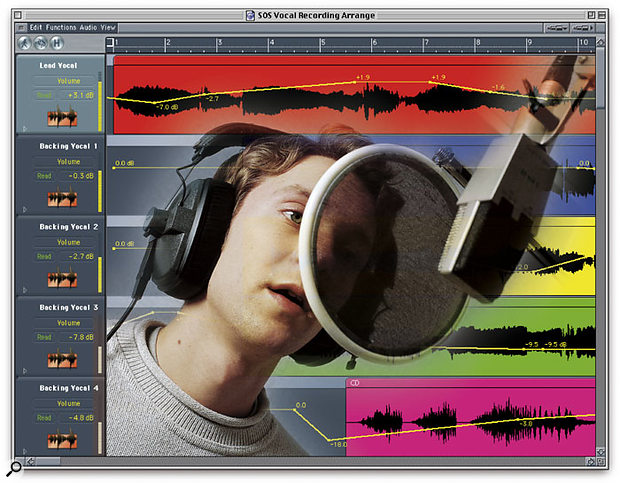 Recording Vocals In The Computer Studio