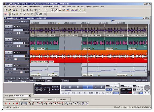 Magix Samplitude Professional v8