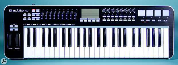 Samson Graphite 49 keyboard.