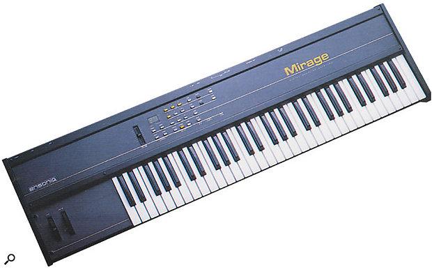 Ensoniq's £1200 Mirage sampler set an all-time low price for sampling keyboards in 1985.