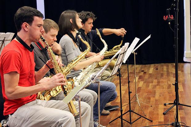 Selwyn Jazz in action.