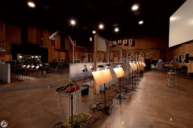 Sony Scoring Stage, Los Angeles.