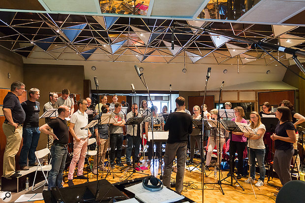 Session Notes: Recording A Choir