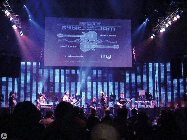 The recent Sonar X64 64-bit jam session at Seattle's Experience Music Project.