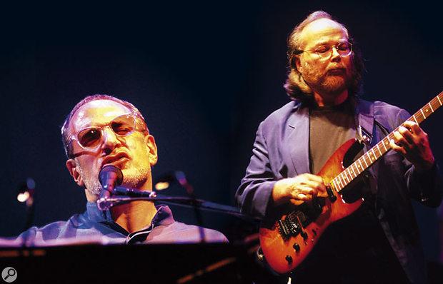 Donald Fagen and Walter Becker on the recent Steely Dan tour.