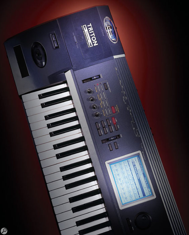 The basic 61-note synth-action Triton Extreme (SOS used both the 61- and 88-note keyboards for this review).