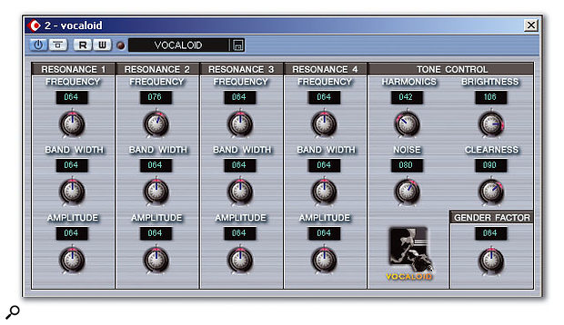 The Vocaloid VSTi now performs much better within Cubase SX.