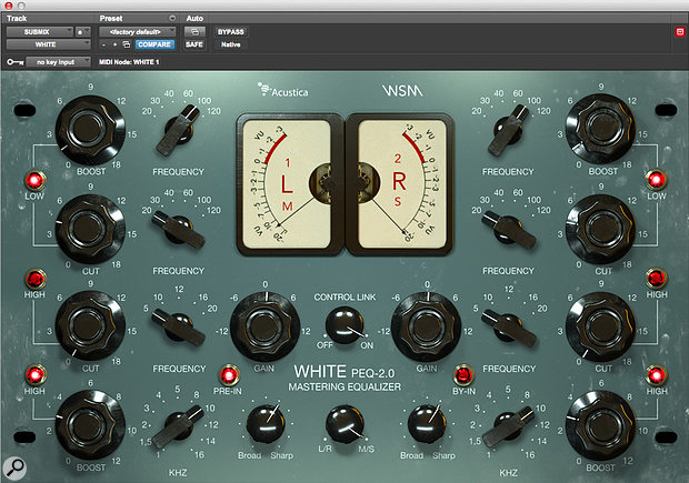 Acustica Audio White