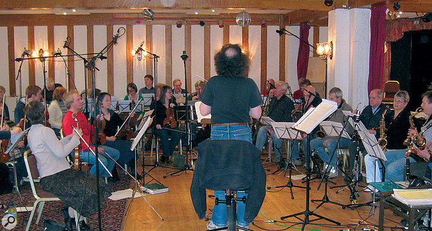 Recording A Light Orchestra.