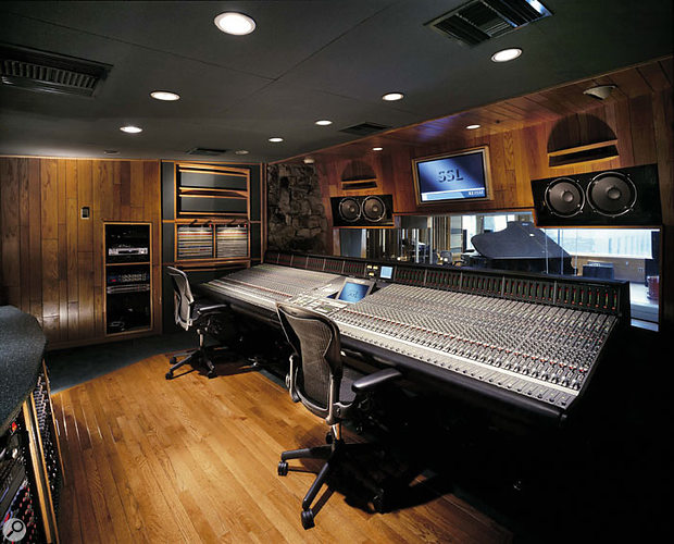 The other Platinum Sound control room, with its K9000 SSL console.