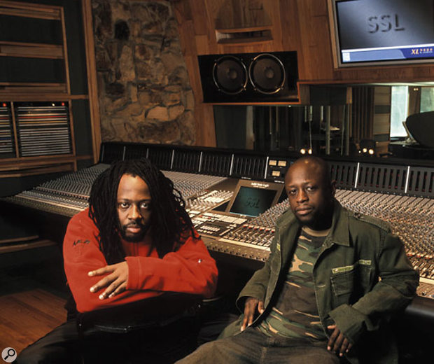 Wyclef Jean (left) and Jerry Wonda grew up together, and now form an in-demand production and writing team.