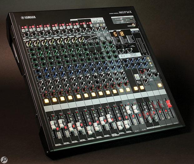 Yamaha MGP16X mixer.