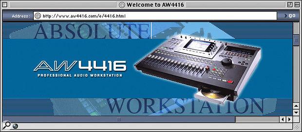 Yamaha AW4416 User Tips