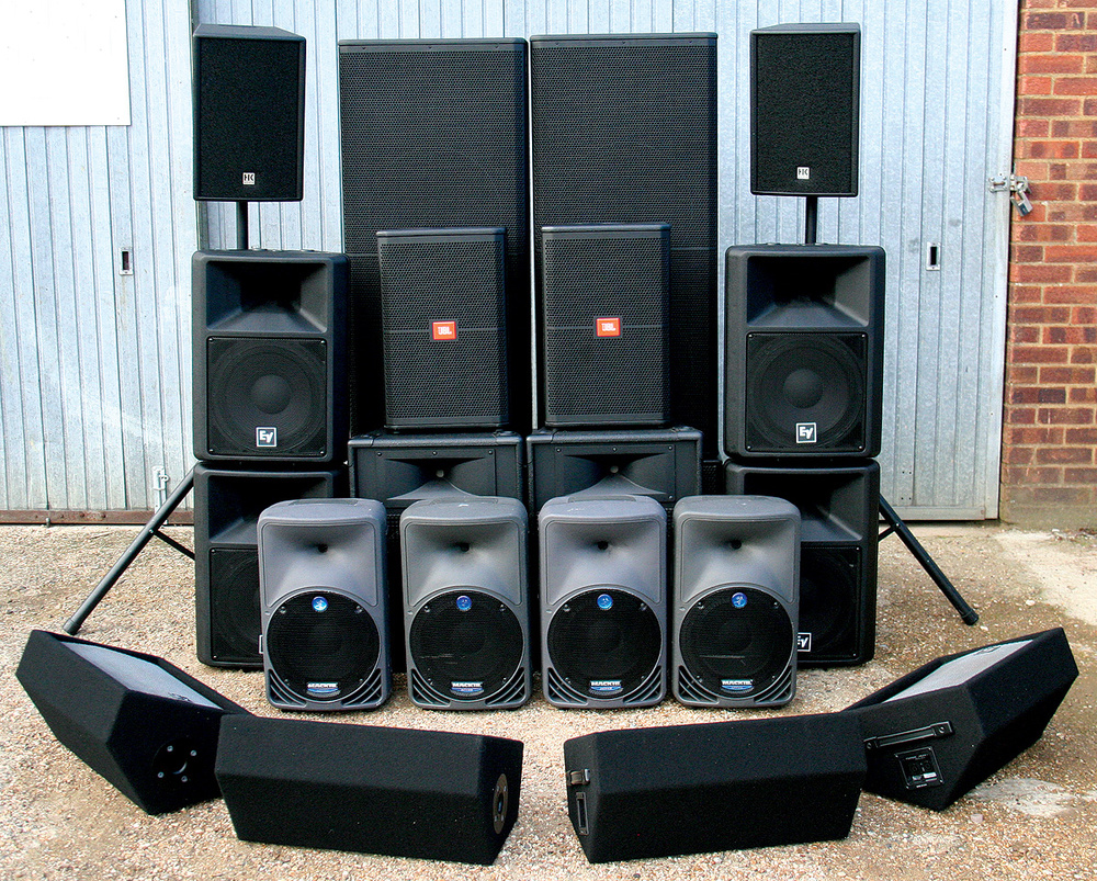 How to setup a home sound system - Finding The Right Pa System For You