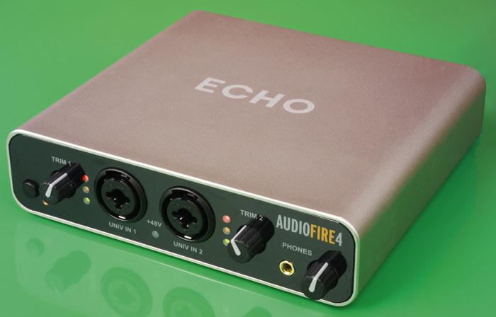 Echo audiofire 4 драйвера