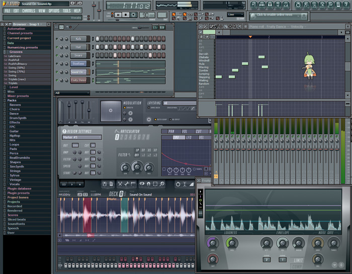 Fruity loops studio 8 full pro edition clean working