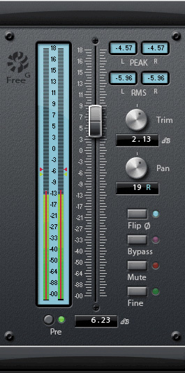 gain staging in your daw software