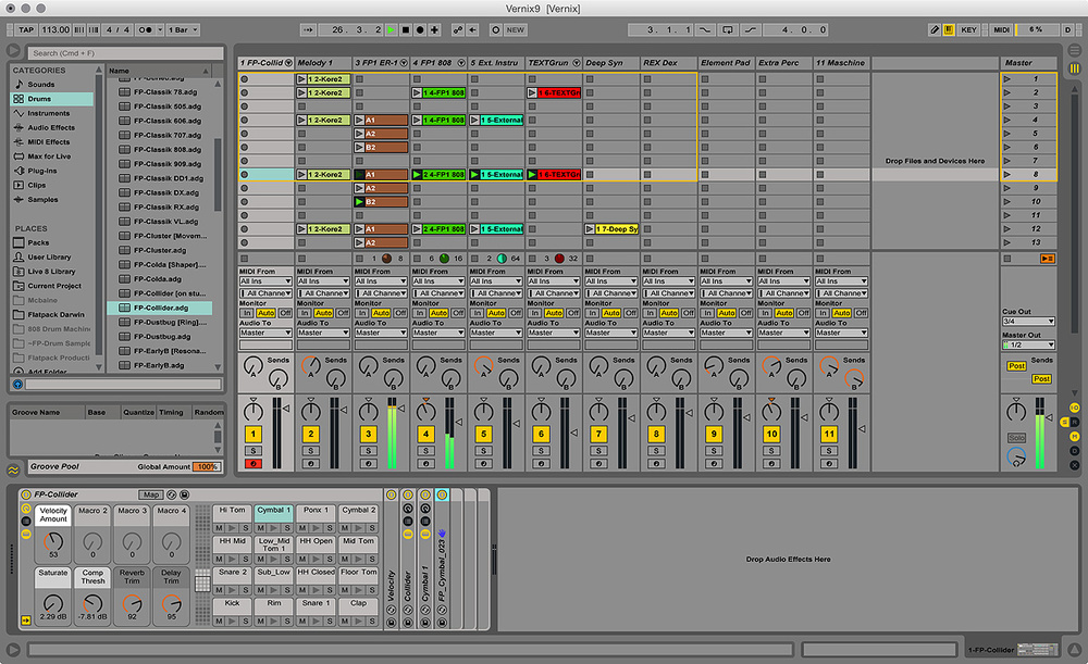 ion studio session drums software