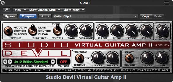 Virtual Amp Bass Virtual Guitar Amp ii 79