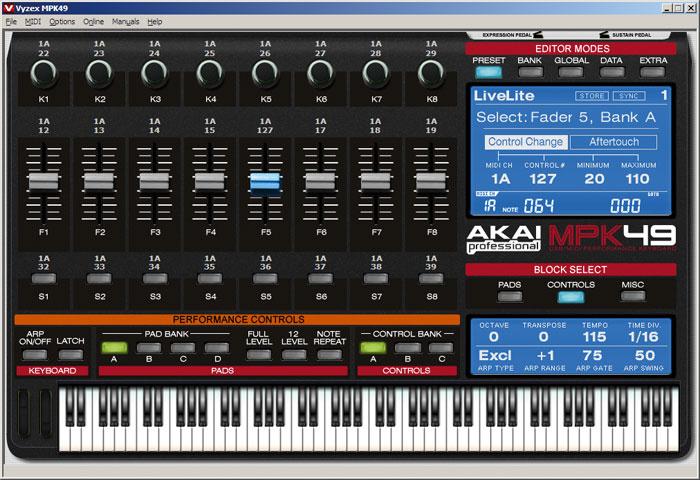 akai mpk49 driver software  for mac