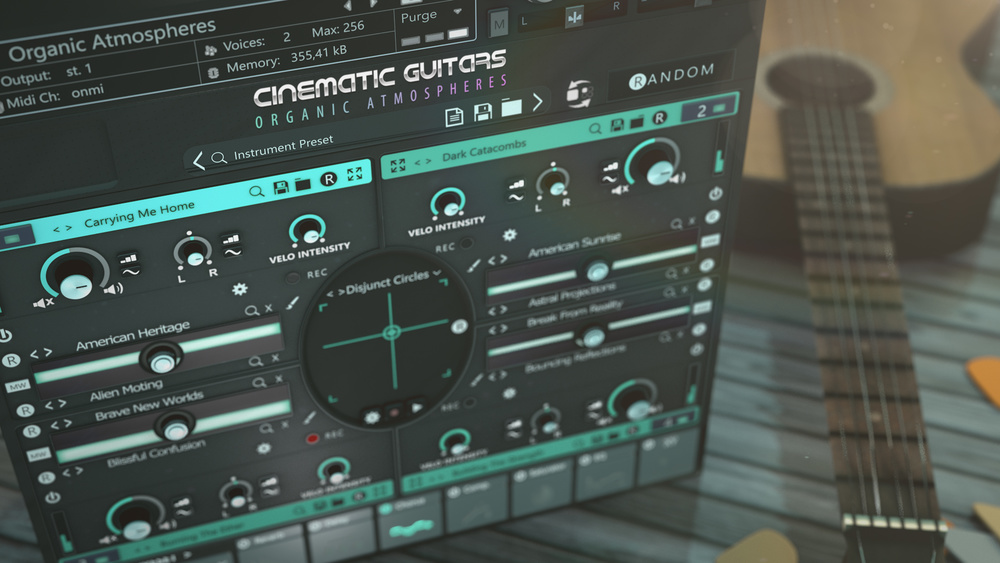 Cinematic Guitars Organic Atmospheres out now |