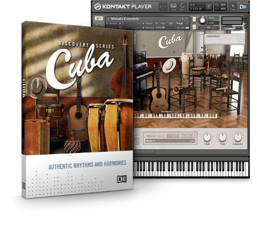 Native Instruments Discovery Series Cuba v1.2ساز کوبه ای