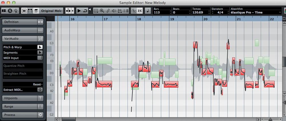 How do i write a Vocal Melody?