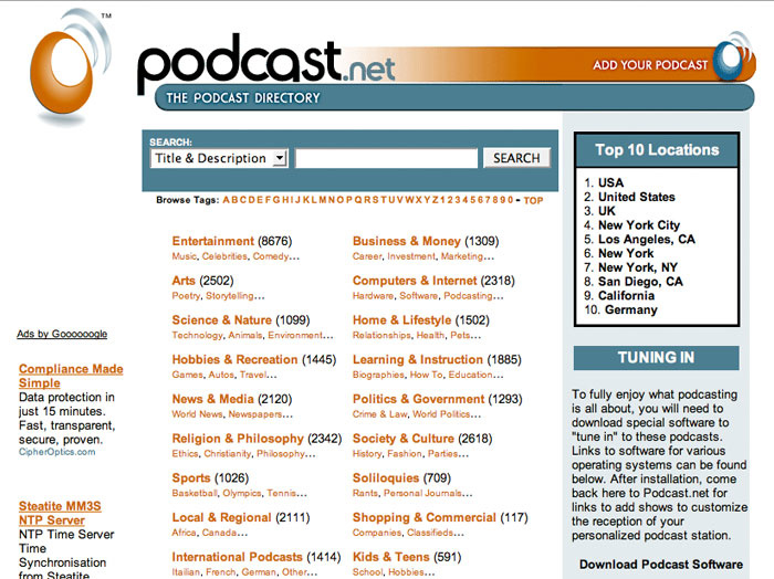 how to create a podcast feed