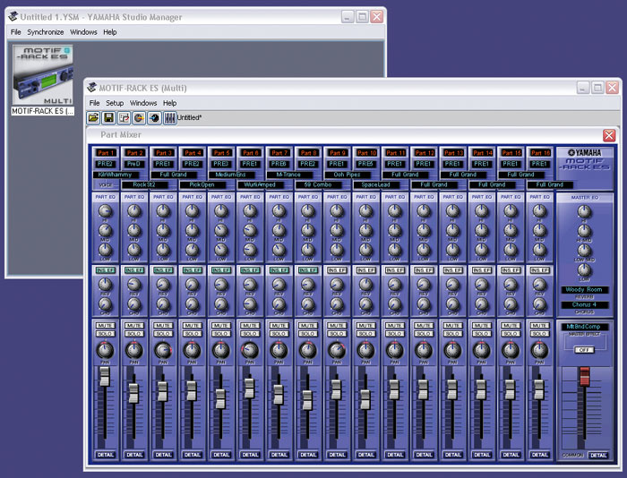 Yamaha Studio Manager Software