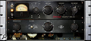 Universal Audio's Fairchild 660 limiter plug-in