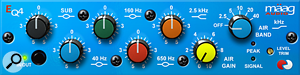 The new Maag EQ4 plug-in devel