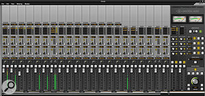 The Console utility has been adapted to reflect the Apollo 16's feature set, and now offers four Cue mixes.
