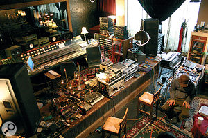 "Sweet Tea: ""a living room that just happens to have a Neve 8038 desk in it""."