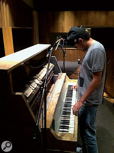 'Real' instruments are often prominently featured in Alex Da Kid's productions, sometimes played by the producer himself and otherwise by session musicians.