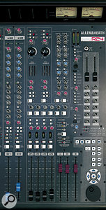 As well as the usual array of group channels and aux controls, the master section includes transport controls for your DAW, and two valve channels, which allow you to dial in some sonic colour.