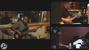 One of the most enlightening things when watching ASSR is experiencing at first hand the way Alan Parsons runs asession, whether full‑band tracking with seasoned pros or vocal overdubs with inexperienced student singers.