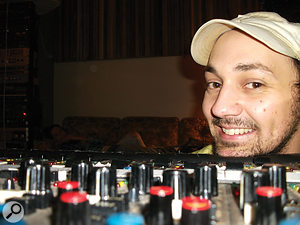Andrija Tokic recorded the whole of Boys&Girls across anumber of short sessions athis Bomb Shelter studio.