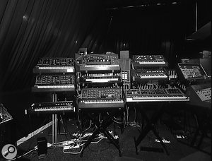 Martin Newcomb's Museum of Synthesizer Technology was an impressive, albeit short-lived, venture which brought together Bob Williams and synth designer Steve Gay.