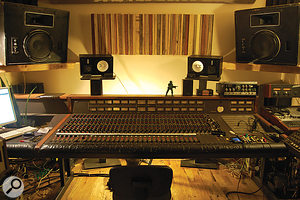 Since the album was recorded, The Bomb Shelter has moved to new premises, but is still based around an MCI JH600 analogue desk.