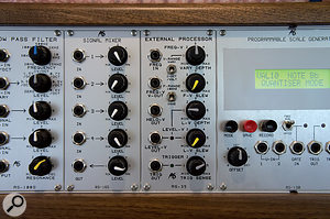 The RS35 External Processor was designed to allow voices and other instruments to be used as synth controllers.