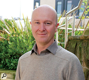 Dr. Ian Gibson leads the Adaptive Music Technology Research Group (AMTRG) at Huddersfield University.