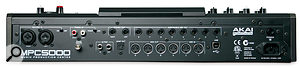 The MPC's two MIDI inputs and four(!) MIDI Outputs betray its heritage, but also found on the rear panel are some new additions to the MPC family: combi XLR and jack sockets so you can record balanced mic and lin-level signals.