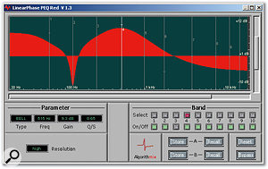 Linear Phase PEQ Red seems to be marketed primarily for mastering. However, both Blue and Red can do double-duty.