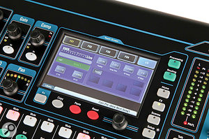 Where deeper editing than the control panel allows is necessary, the touchscreen and encoder allow for detailed parameter adjustment.