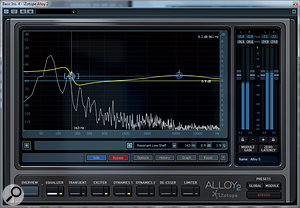 Among the new EQ algorithms are resonant high and low shelving equalisers, which open up some interesting possibilities.