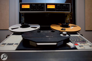 The original Ampex ATR102 is amuch sought-after mastering recorder.