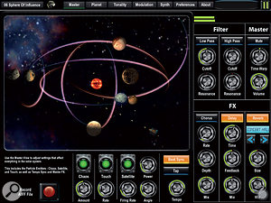 SpaceWiz: prod a planet, produce a sound...