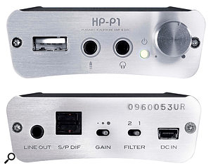 The Fostex HPP1 is small, light and sturdy, drawing its power from an internal battery that can be charged via USB.