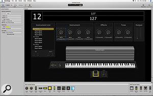 Layout mode enables you to create a  custom user interface for your Concert, using the available Screen Controls.