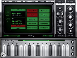 Some iPad synths, such as Animoog, are so good that they deserve to be integrated into your Mac DAW setup.